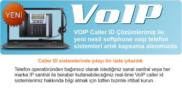 VoIP Caller ID Çözümleri